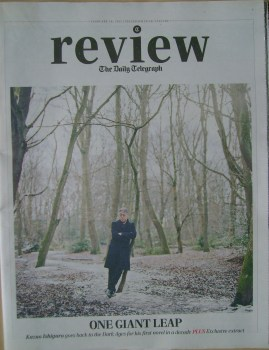 The Daily Telegraph Review newspaper supplement - 28 February 2015 - Kazuo Ishiguro cover
