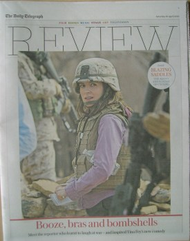 The Daily Telegraph Review newspaper supplement - 16 April 2016