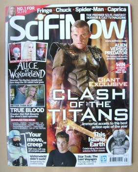 SciFiNow Magazine - Sam Worthington cover (Issue No 38)