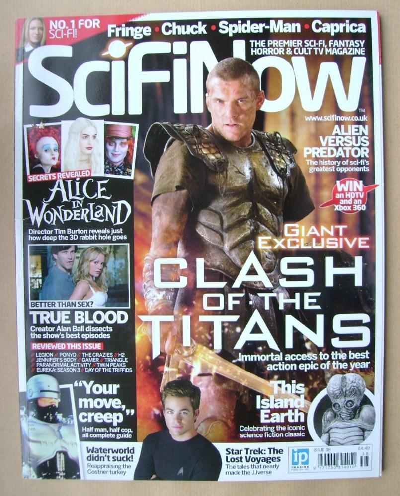<!--0038-->SciFiNow Magazine - Sam Worthington cover (Issue No 38)
