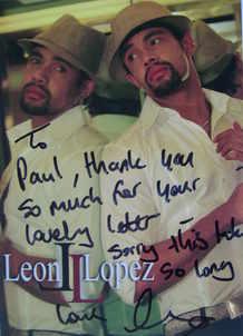 Leon Lopez autograph