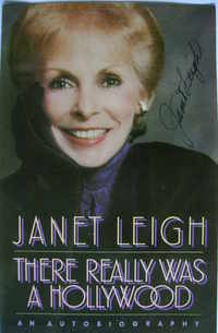 Janet Leigh autograph