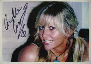 Camille Coduri autograph (hand-signed photograph)