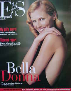 Evening Standard magazine - Donna Air cover (29 October 2004)