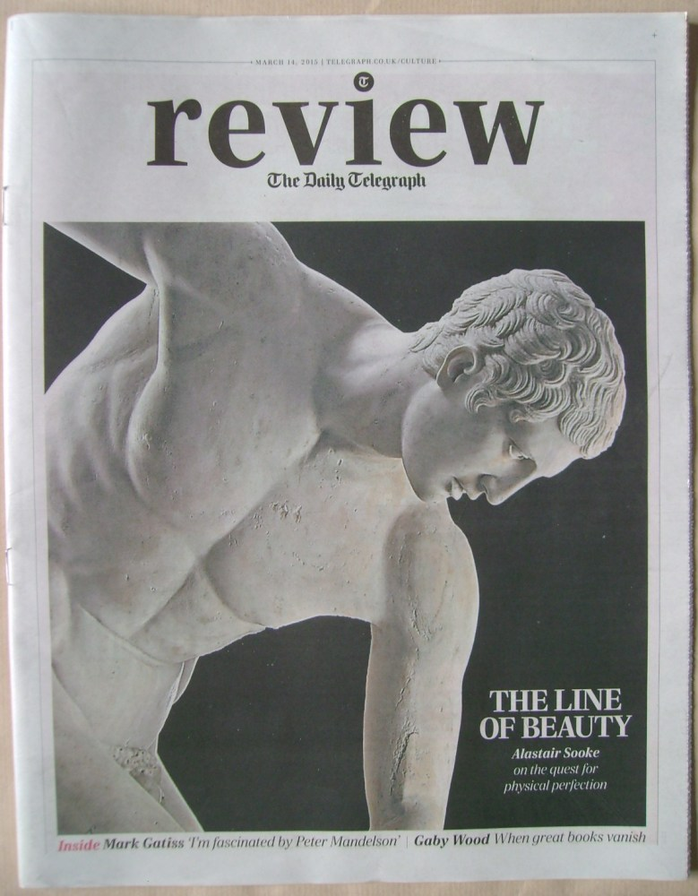 The Daily Telegraph Review newspaper supplement - 14 March 2015