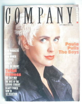 Company magazine - September 1987 - Paula Yates cover