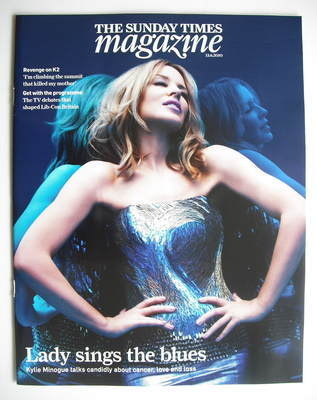 <!--2010-06-13-->The Sunday Times magazine - Kylie Minogue cover (13 June 2