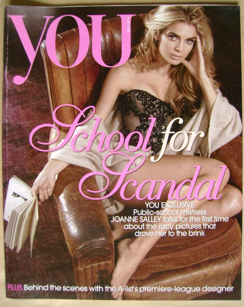 <!--2012-07-08-->You magazine - Joanne Salley cover (8 July 2012)