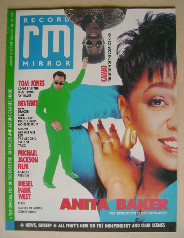 <!--1988-11-12-->Record Mirror magazine - 12 November 1988