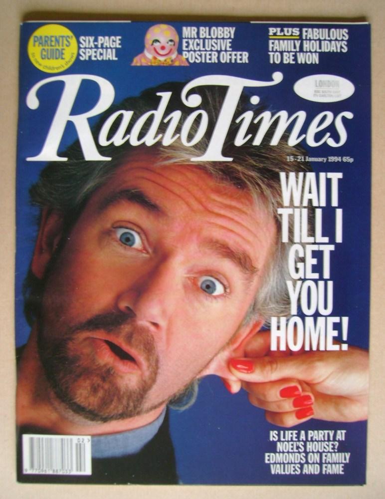 <!--1994-01-15-->Radio Times magazine - Noel Edmonds cover (15-21 January 1