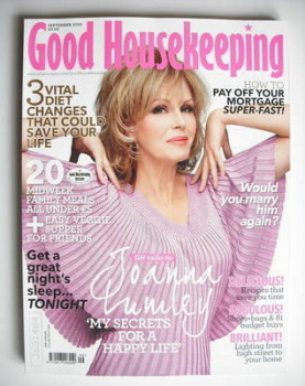 Good Housekeeping magazine - Joanna Lumley cover (September 2010)