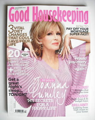 <!--2010-09-->Good Housekeeping magazine - Joanna Lumley cover (September 2
