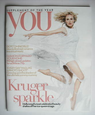<!--2010-08-22-->You magazine - Diane Kruger cover (22 August 2010)