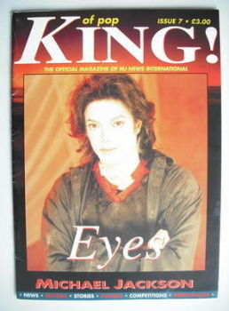 King of Pop magazine - Michael Jackson cover (1996 - Issue 7)