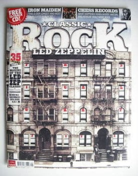 Classic Rock magazine - September 2010 - Led Zeppelin cover