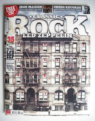 <!--2010-09-->Classic Rock magazine - September 2010 - Led Zeppelin cover