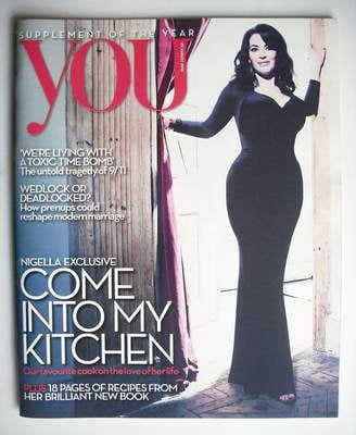 <!--2010-08-29-->You magazine - Nigella Lawson cover (29 August 2010)