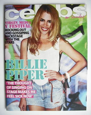 <!--2010-08-29-->Celebs magazine - Billie Piper cover (29 August 2010)
