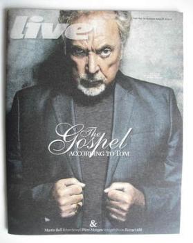 Live magazine - Tom Jones cover (29 August 2010)