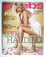 <!--2010-06-20-->Celebs magazine - Sarah Harding cover (20 June 2010)