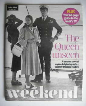 <!--2010-08-28-->Weekend magazine - Queen Elizabeth II cover (28 August 2010)