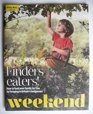 Weekend magazine - Finders Eaters cover (21 August 2010)