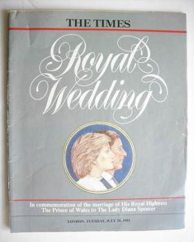 <!--1981-07-28-->The Times magazine - Royal Wedding magazine (28 July 1981)