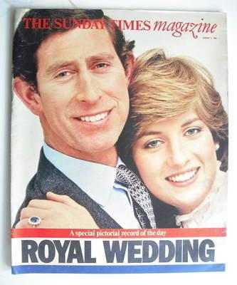 <!--1981-08-02-->The Sunday Times magazine - Prince Charles and Princess Di