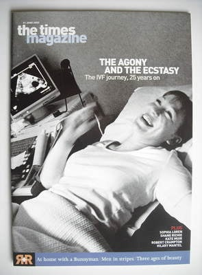 <!--2003-06-21-->The Times magazine - The IVF Journey cover (21 June 2003)