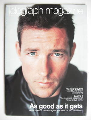 <!--2002-01-12-->Telegraph magazine - Ed Burns cover (12 January 2002)