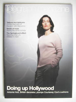 <!--2002-01-26-->Telegraph magazine - Antonia Hutt cover (26 January 2002)