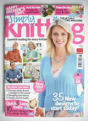 Simply Knitting magazine (Issue 67 - June 2010)