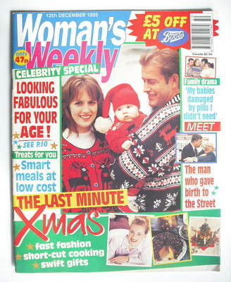 <!--1995-12-12-->Woman's Weekly magazine (12 December 1995)