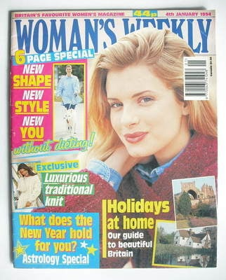 <!--1994-01-04-->Woman's Weekly magazine (4 January 1994)