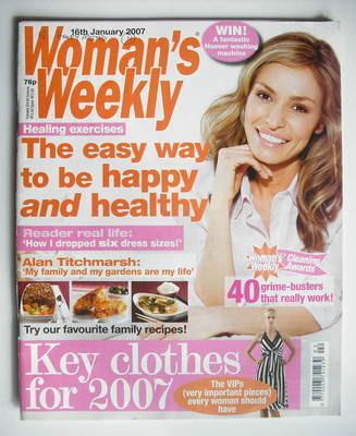 <!--2007-01-16-->Woman's Weekly magazine (16 January 2007 - British Edition