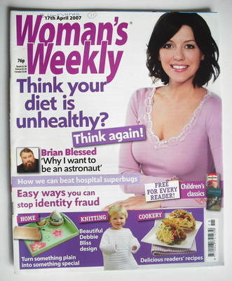 <!--2007-04-17-->Woman's Weekly magazine (17 April 2007 - British Edition)