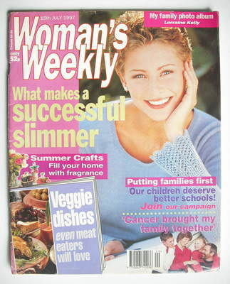 <!--1997-07-15-->Woman's Weekly magazine (15 July 1997)
