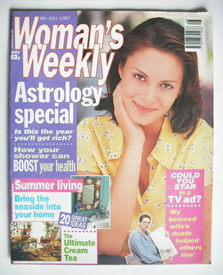 <!--1997-07-08-->Woman's Weekly magazine (8 July 1997)