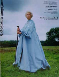 <!--2010-09-11-->Telegraph magazine - Deborah Devonshire cover (11 Septembe