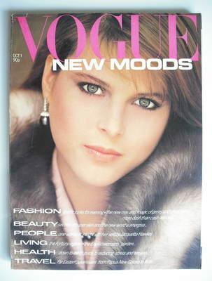 <!--1980-10-01-->British Vogue magazine - 1 October 1980 - Catherine Oxenbe