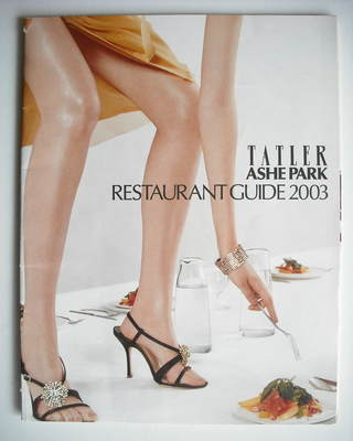 Tatler supplement - Ashe Park Restaurant Guide (2003)