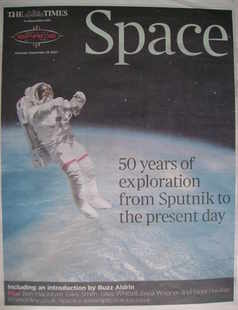 The Times newspaper supplement - Space 50 Years of Exploration from Sputnik