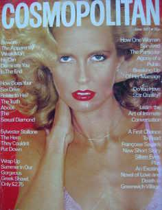 Cosmopolitan magazine (June 1977 - Marcia Wolf cover)