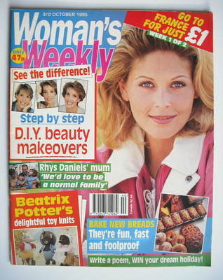 <!--1995-10-03-->Woman's Weekly magazine (3 October 1995)