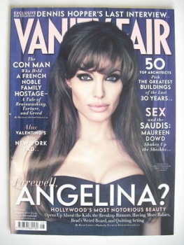 Vanity Fair magazine - Angelina Jolie cover (August 2010)