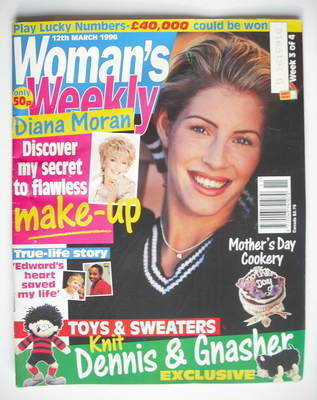 <!--1996-03-12-->Woman's Weekly magazine (12 March 1996)