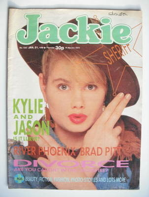 <!--1989-01-21-->Jackie magazine - 21 January 1989 (Issue 1307)