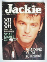 <!--1989-02-25-->Jackie magazine - 25 February 1989 (Issue 1312 - Marti Pellow cover)