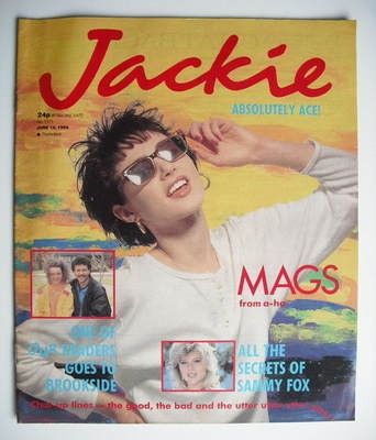 <!--1986-06-14-->Jackie magazine - 14 June 1986 (Issue 1171)