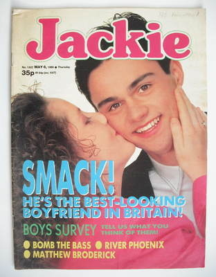 <!--1989-05-06-->Jackie magazine - 6 May 1989 (Issue 1322)